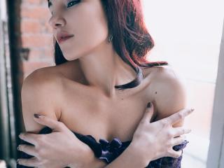 AmmeliaLee模特的性感個人頭像,邀請您觀看熱辣勁爆的實時攝像表演!