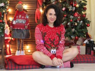 Sexy profilbilde av modellen  CleoLove, for et veldig hett live webcam-show!