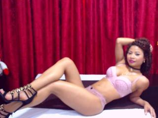 Picture of the sexy profile of HotViolette, for a very hot webcam live show !