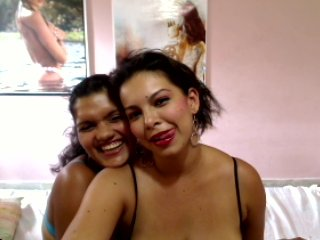 Picture of the sexy profile of 2DouxAnges, for a very hot webcam live show !