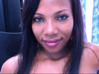 Picture of the sexy profile of BlackSexyDiva, for a very hot webcam live show !