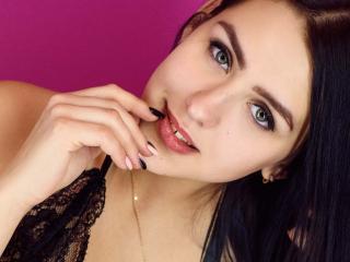 Velmi sexy fotografie sexy profilu modelky BlurE pro live show s webovou kamerou!