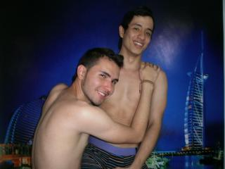 Picture of the sexy profile of CrazyLatinos, for a very hot webcam live show !