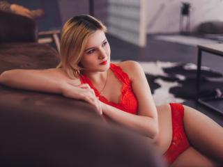 Velmi sexy fotografie sexy profilu modelky EllaFayne pro live show s webovou kamerou!