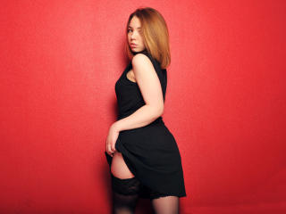 Picture of the sexy profile of EllenCandy, for a very hot webcam live show !