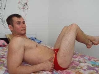 Picture of the sexy profile of FabriziOxl, for a very hot webcam live show !