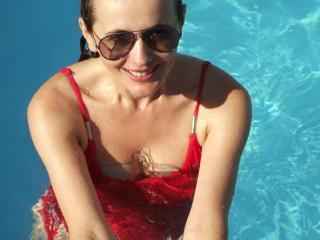 Foto van het sexy profiel van model Fontaine, voor een zeer geile live webcam show!