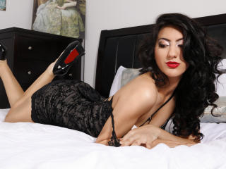 Photo de profil sexy du modèle GennyFoxy, pour un live show webcam très hot !
