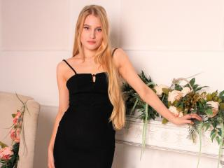 Picture of the sexy profile of GoldenFlower, for a very hot webcam live show !