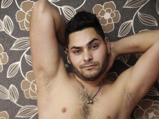 Sexet profilfoto af model JaysonWillis, til meget hot live show webcam!