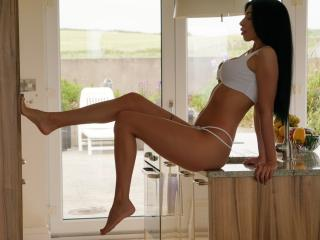Sexet profilfoto af model KylieVegas, til meget hot live show webcam!