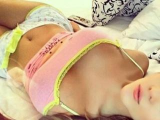 Sexet profilfoto af model LovelyFontaine, til meget hot live show webcam!