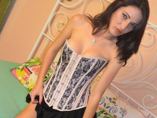 Velmi sexy fotografie sexy profilu modelky MissAllyda pro live show s webovou kamerou!