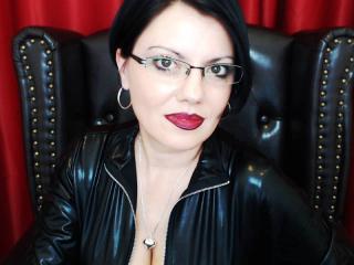 Velmi sexy fotografie sexy profilu modelky MistressAnastasia pro live show s webovou kamerou!
