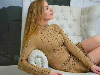 Sexet profilfoto af model MyWorld, til meget hot live show webcam!