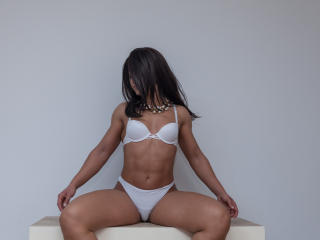 Picture of the sexy profile of NinaFontaine, for a very hot webcam live show !