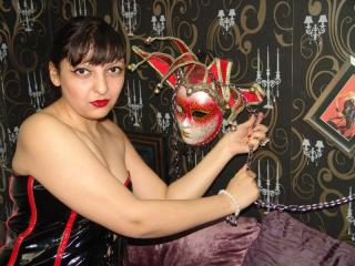 Sexet profilfoto af model QueenMandy, til meget hot live show webcam!