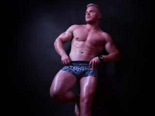 Picture of the sexy profile of RyanMuscle, for a very hot webcam live show !