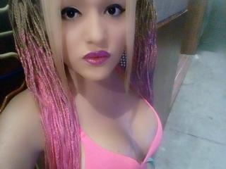 Photo de profil sexy du modèle ShanelleTsSexy, pour un live show webcam très hot !