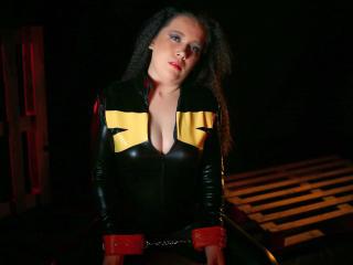 Velmi sexy fotografie sexy profilu modelky SubForPleasure pro live show s webovou kamerou!