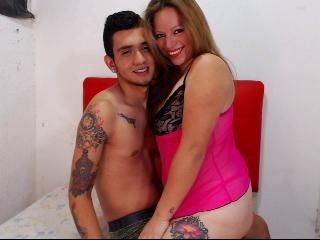 Sexy profilbilde av modellen  SweetAndWildCouple, for et veldig hett live webcam-show!