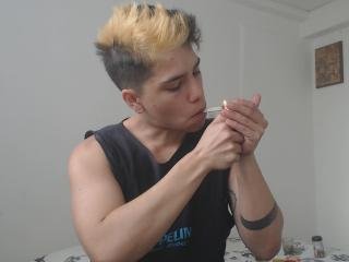 Picture of the sexy profile of transguy, for a very hot webcam live show !