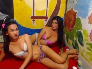 Hình ảnh đại diện sexy của người mẫu TsSexyCoupleX để phục vụ một show webcam trực tuyến vô cùng nóng bỏng!