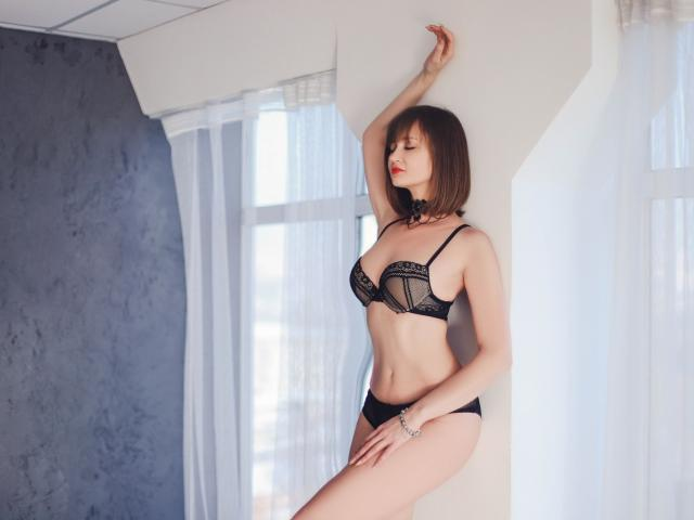 Photo de profil sexy du modèle BellaBom, pour un live show webcam très hot !