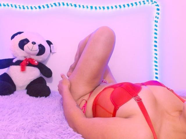 Velmi sexy fotografie sexy profilu modelky MirandaDavis pro live show s webovou kamerou!
