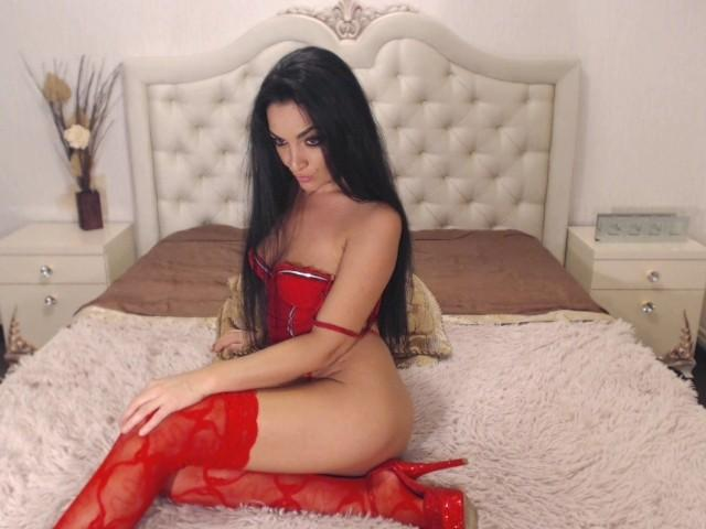 Picture of the sexy profile of SexyBrunette, for a very hot webcam live show !