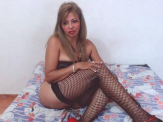MatureDelicious - Chat cam hot with this platinum hair Mature