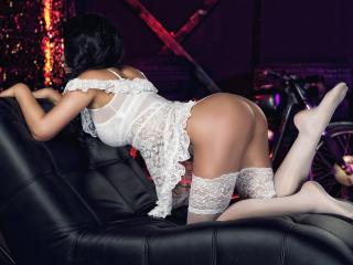 MikyLovely - Live cam hard with a black hair Young and sexy lady