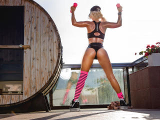 MissZhanna - Cam hot with a regular melon Young and sexy lady