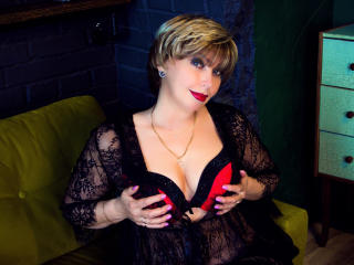 BlondSexyMature - Show live sexy with a shaved sexual organ Lady over 35