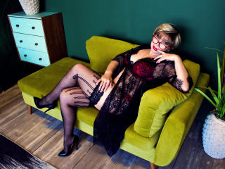 BlondSexyMature - Webcam exciting with this MILF with average hooters