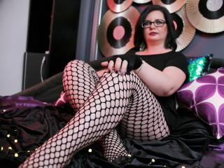 MissTroublle - Show live en direct avec cette Model mature avec une belle poitrine sur la plateforme Mature cam
