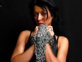 Sexet profilfoto af model HellGoddes, til meget hot live show webcam!