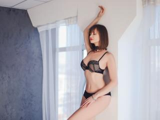 Sexet profilfoto af model BellaBom, til meget hot live show webcam!
