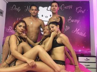 Picture of the sexy profile of GroupCover, for a very hot webcam live show !