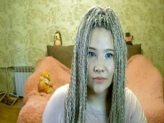 Seksikäs profiilivalokuva AnabelleXPink kuumaa webcam live show'ta varten!