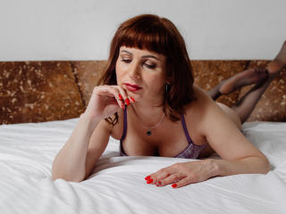 Sexet profilfoto af model EvelinaX, til meget hot live show webcam!