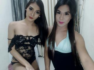Photo de profil sexy du modèle TwoSensualCharm, pour un live show webcam très hot !