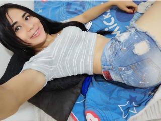 Sexet profilfoto af model CristalHugetss, til meget hot live show webcam!