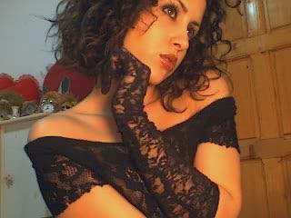 Photo de profil sexy du modèle Devil3yes, pour un live show webcam très hot !