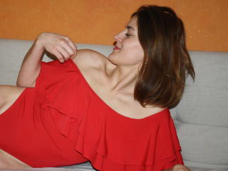 Picture of the sexy profile of AmelyGold, for a very hot webcam live show !