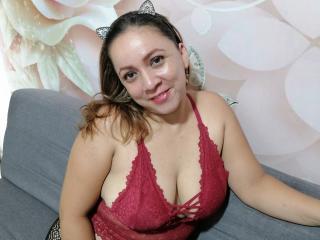 Foto de perfil sexy da modelo DirtySweety, para um live show muito quente!