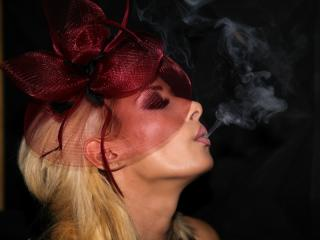 Picture of the sexy profile of FetishBlondeSub, for a very hot webcam live show !