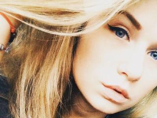 Sexet profilfoto af model CuteeQueen, til meget hot live show webcam!