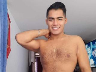 Picture of the sexy profile of ClarkBigHot, for a very hot webcam live show !