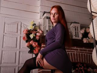 Photo de profil sexy du modèle SteffanyRed, pour un live show webcam très hot !